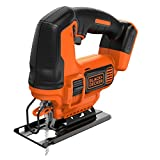 BLACK+DECKER BDCJS18N-XJ Seghetto Alternativo Senza Batterie in Cartone, Arancione/Nero