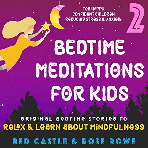 Bedtime Meditations for Kids Part 2  By  cover art