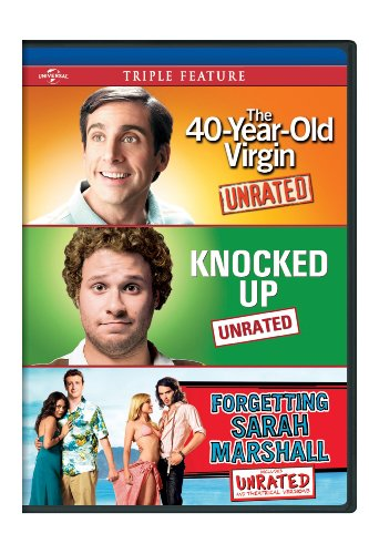 The 40-Year-Old Virgin / Knocked Up / Forgetting Sarah Marshall Triple Feature [DVD]