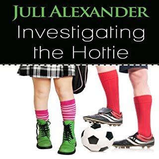 Investigating the Hottie audiobook cover art