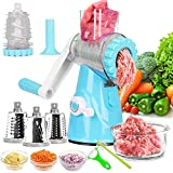 Best Meat Grinders - Meat Grinder, Rotary Cheese Grater, Kitchen Multi-Function Meat Review
