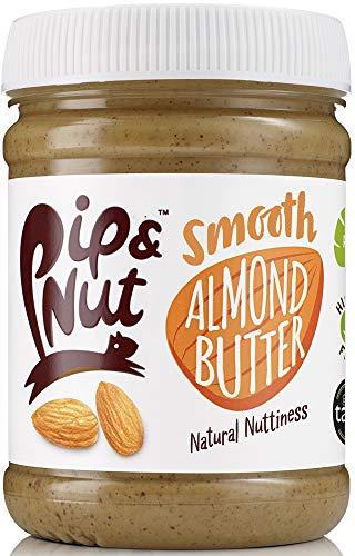 Pip & Nut Slät mandelsmör, 225 g