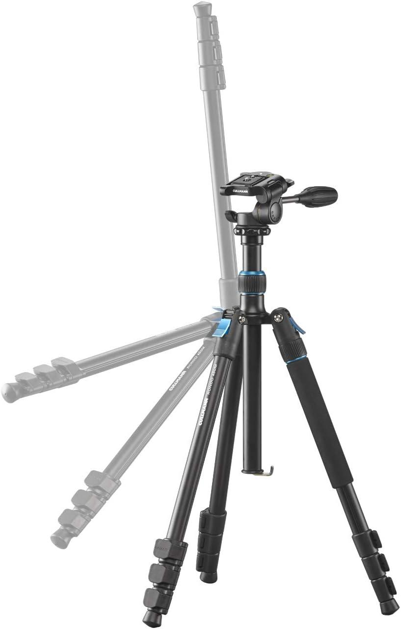capacit/é de charge 4kg hauteur de rallonge 185cm Cullmann Rondo 480M RB8.5 Tr/épied allround avec rotule taille de paquet 48cm