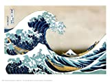 onthewall Hokusai - The Great Wave off Kanagawa, Stampa Artistica Giapponese, Dimensioni 40 x 30 cm, PDP 059