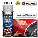 LGVSHOPPING Macota Trasparente Opaco Protettivo Vernice Bomboletta Spray 200ml Tuning KZ100