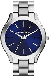 MK3379 Slim Runway Silver Stainless Steel Bracelet Watch 42mm Women's Watch