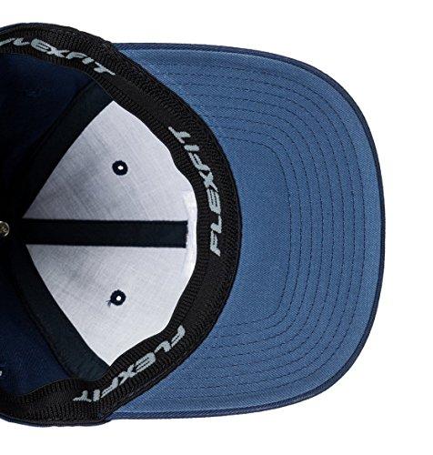 DC Clothing Men's Star 2 Cap, Black Iris 2, X-Large