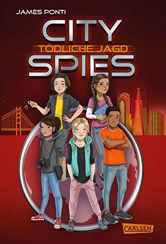 Buchseite und Rezensionen zu 'City Spies 2: Tödliche Jagd: Actionreicher Spionage-Thriller für Jugendliche (2)' von James Ponti