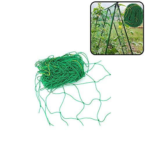 Yahpetes Garden Netting 1Pcs Garden Climbing Net Plant Trellis Plant net trelli Green Strong Nylon Ft Netting Heavy Duty Net Support for ClimbingampVining Plants 6#039X3#039