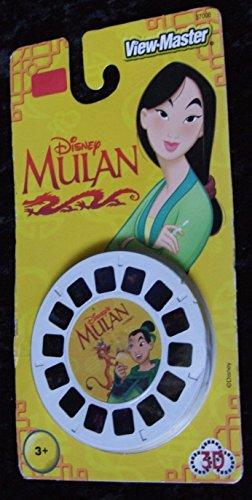 Disney 3D VIEW-MASTER DISCS MULAN