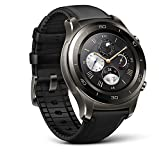 Huawei Watch 2 Classic Smartwatch - Ceramic Bezel- Black Leather...