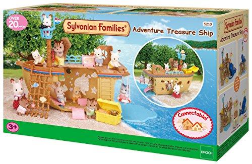 SYLVANIAN FAMILIES- Adventure Treasure Ship Mini muñecas y