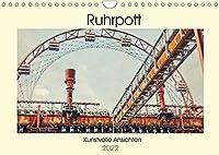 Ruhrpott - Kunstvolle Ansichten (Wandkalender 2022 DIN A4 quer): Das Ruhrgebiet. Von jeher eine besondere Region mit einer Vielzahl von beeindruckenden, sowie geheimnisvollen Orten und Ansichten. (Monatskalender, 14 Seiten )