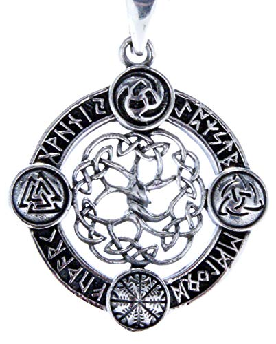 Tree of Life Pendant 925 Sterling Silver No. 400