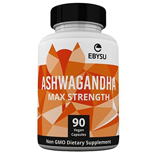 EBYSU Ashwagandha Capsules (90 Count)