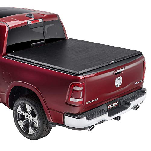 TruXedo TruXport Soft Roll Up Truck Bed Tonneau Cover | 245901 | fits 09-18, 19-20 Classic Ram 1500 with or without Multifunction tailgate 5'7