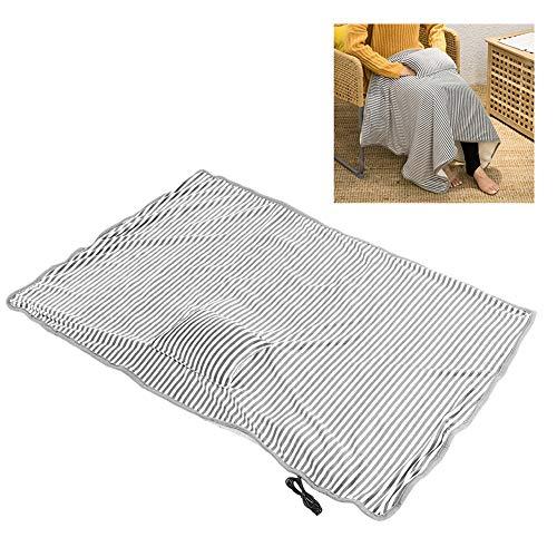 Elektrische verwarmingsdeken, 41,7 x 28,3 inch Warmtekussens voor nek Schouder Rugkniespier Menstruatiepijnverlichting Gezondheidszorg Winter Warm(Lichtgrijs)