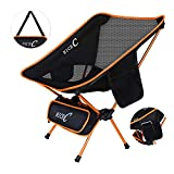 NiceC Ultralight Portable Folding Camping Backpacking Chair Compact & Heavy Duty Outdoor, Camping, BBQ, Beach,...