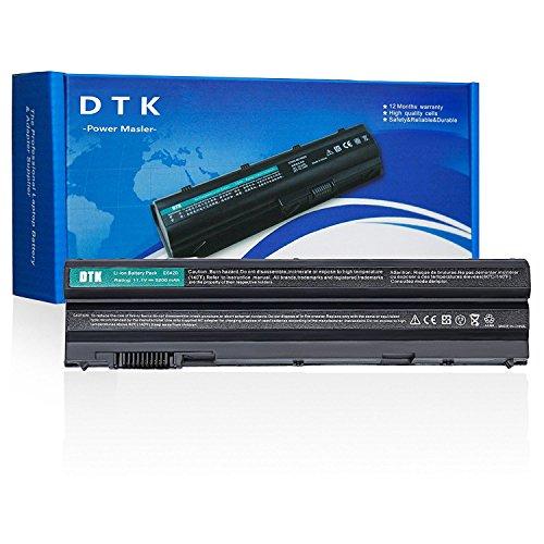 Dtk® Batterie de Rechange pour Ordinateur Portable Dell E5420 E5430 E5530 E6420 E6430 E6520 E6530 Inspiron 4420 5420 5425 7420 7520 4720 5720 M421R M521R N4420 N4720 N5420 N5720 N7420 Vostro 3460 3560 [ 6-cell 11.1v 4400mah ]