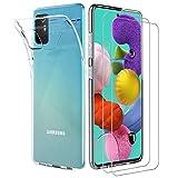 ILUXUS Klar Silikon Hülle für Samsung Galaxy A51