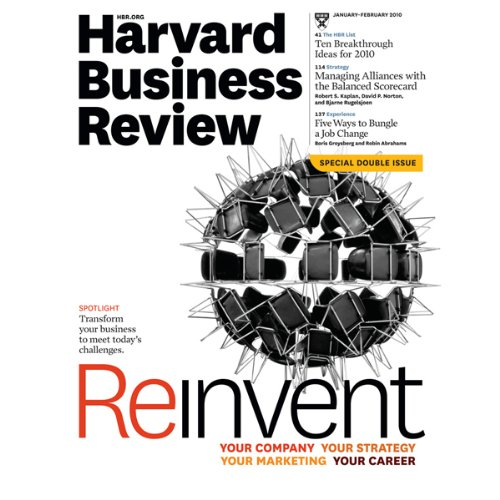 Harvard Business Review, January/February 2010 cover art