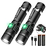 Rechargeable Flashlight, Tactical LED Flashlight, 1200 Lumen Super Bright...
