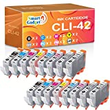 (8-Colors 2 Sets 16 PCS) Smart Gadget Compatible Ink Cartridge Replacement for Canon CLI42 CLI-42 CLI 42 to Used with PIXMA Pro-100 Pro-100S Pro 100 Printer
