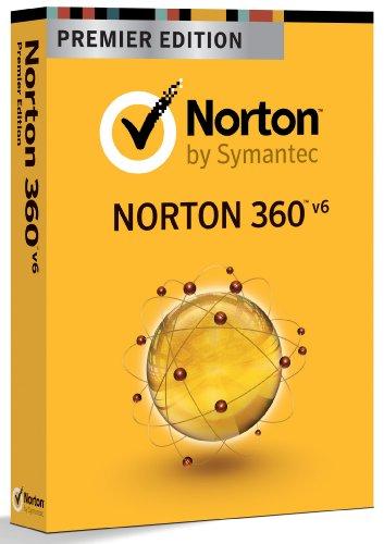 Symantec Norton 360 6.0 Premier 3 User Minibox