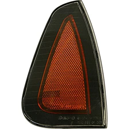 Multiple Manufacturers OE Replacement Dodge Charger Side Marker Light Assembly Partslink Number CH2550133