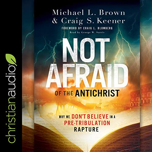 Not Afraid of the Antichrist audiobook cover art