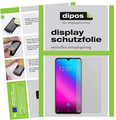 dipos I 6X Schutzfolie matt kompatibel mit Vivo V11 Plus Folie Bildschirmschutzfolie