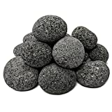 Midwest Hearth 100% Natural Lava Stones for Gas Fire Pit and Fireplace (Medium (1' - 2'))