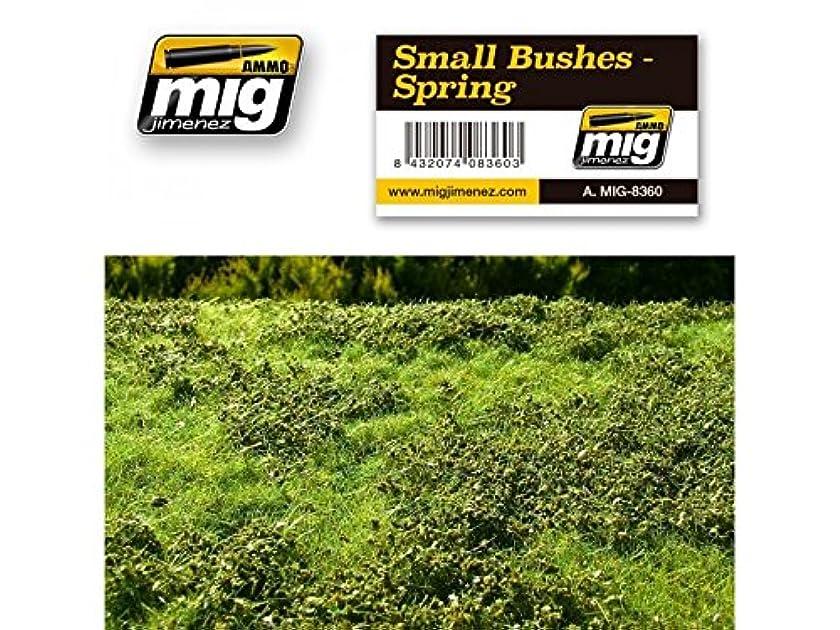 AMMO MIG-8360 Small Bushes - Spring Grass Mats, Multicolour
