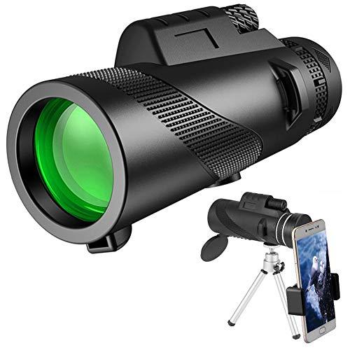 ADHE Monokular Starscope Teleskop 40X60 High Power HD Mit Smartphone Halter & Stativ Wasserdichtes Mit Für Vogelbeobachtung Camping Wandern Match