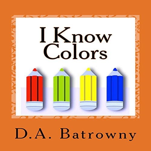 I Know Colors audiobook cover art