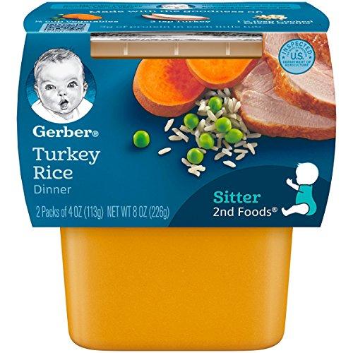 gerber baby food assorted pack - 6
