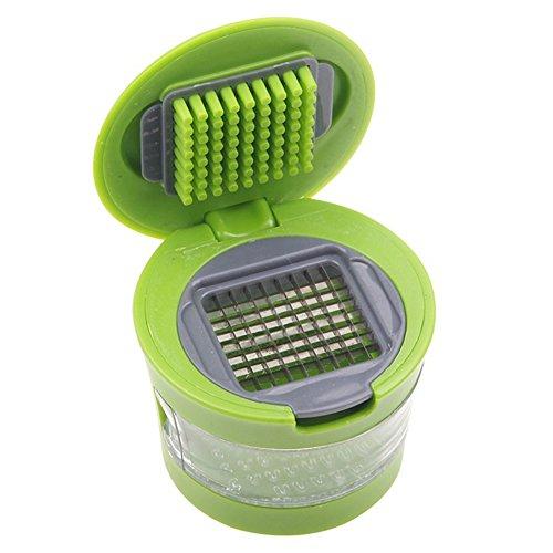 RoseSummer Kitchen Tools Garlic Press Chopper Slicer Hand Presser Grinder Crusher Practical