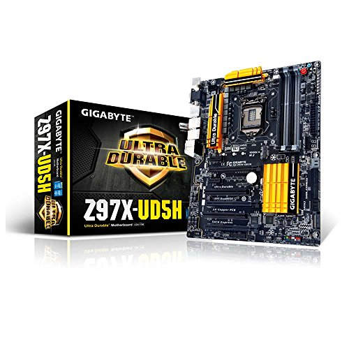Gigabyte Z97X-UD5H - Placa Base (DDDR3-SDRAM, DIMM, 2 X USB 2.0, 1 X USB 3.0)