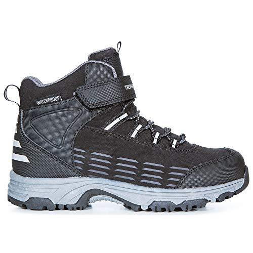 Trespass Boys Harrelson Oxford Boot, Blk, 1 UK