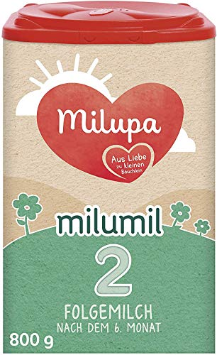 Milumil Milupa 2 Folgemilch nach dem 6. Monat, 800 g, 147831
