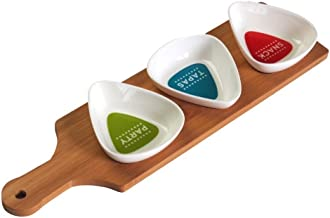 LoveAloe Kreative Holz Obstteller Japanischen Stil Holztablett Schiffsform Obstschalen F/ür Zu Hause Versorgt Holz Farbe