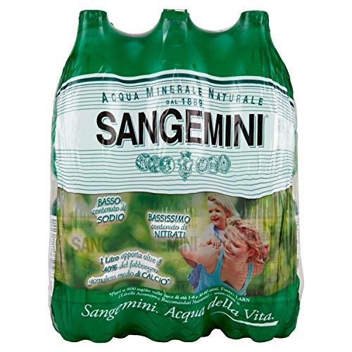 Sangemini Acqua Minerale Naturale 1.5L (Confezione da 6)