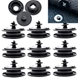 XUKEY Universal Car Floor Mat Clips Retention Holders Grips Carpet Fixing Clamps Buckles Anti Skid Fastener Retainer Resistant