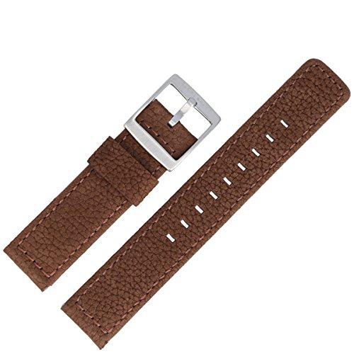 Liebeskind Uhrenarmband 20 mm Leder Braun Nubuk - Uhrband B_LT-0018-LQ