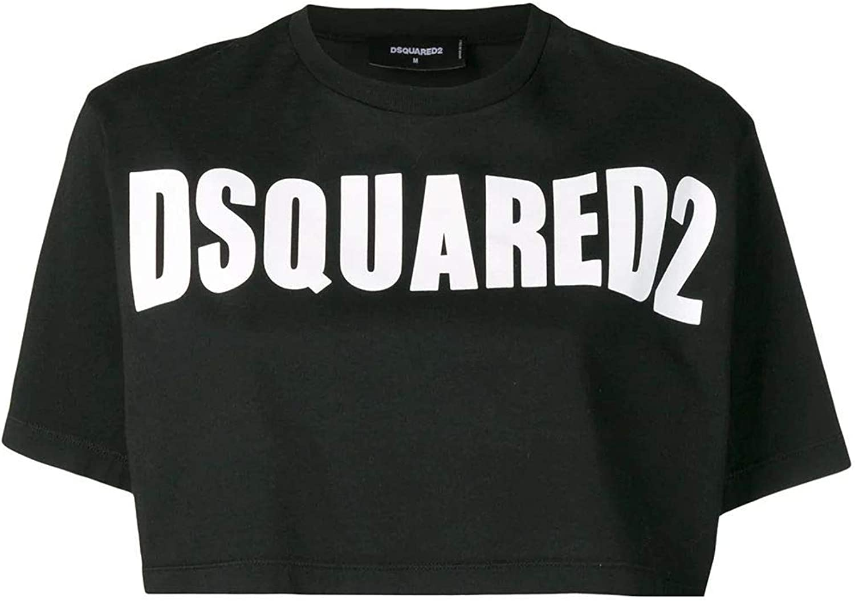 DSQUARED2 Women's S72GD0149S22427900 Black Cotton TShirt