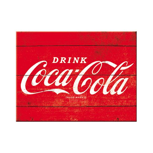 Nostalgic-Art 14320 de Coca-cola, Logo Rouge