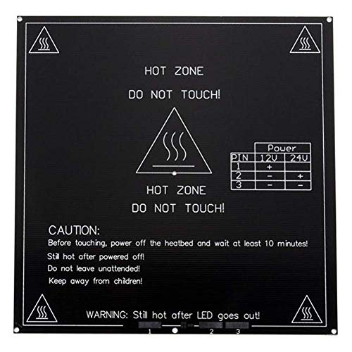 BINGFANG-W 3D Printer Parts Aluminum Board 3MM MK3 PCB Heated Bed for Reprap Standard 3D Printer 3D Printer