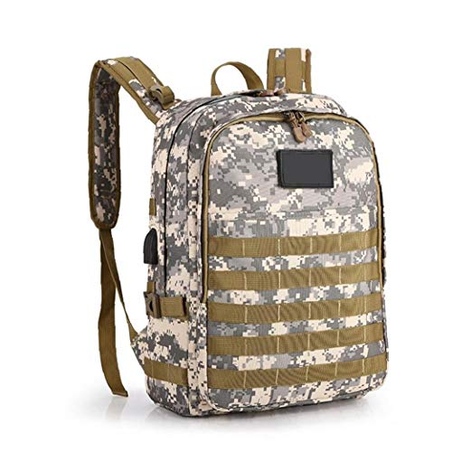 40l Pubg 9898 Level 3 Outdoors Water-Resistant Backpack for Camping Hiking Backpacking