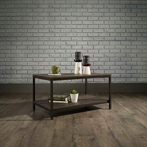 Best Sauder North Avenue Coffee Table, Smoked Oak finish