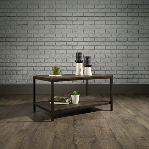 Sauder North Avenue Coffee Table, Smoked Oak finish